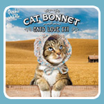 Cats LOVE to be dressed up, so Archie McPhee's Cat Bonnet is a guaranteed winner!