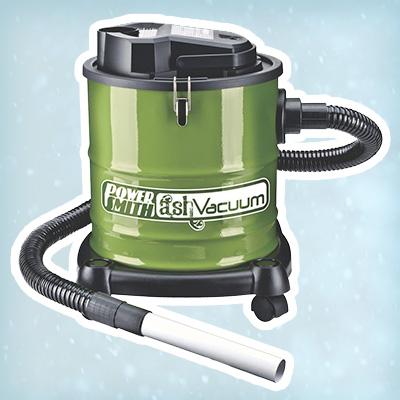 Metal-bodied ash vacuum