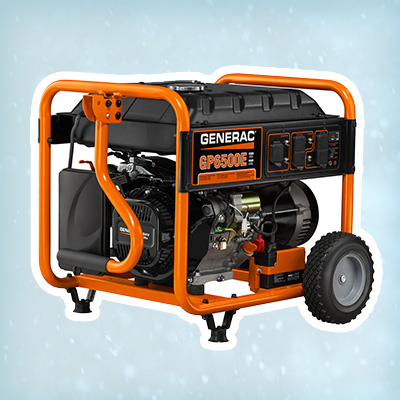 Generac GP6500 gasoline-powered portable generator