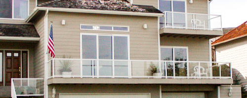 Western Clear View Glass Railings System