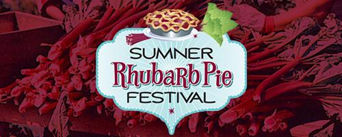 Sumner's Rhubarb Pie Festival