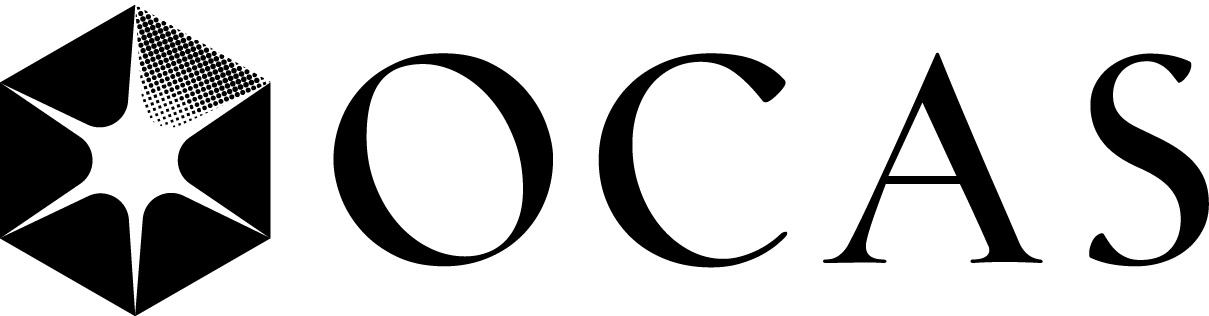 ocas logo wide 1 color no tagline