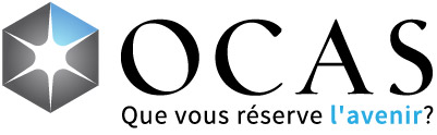OCAS Logo with tagline: What does tomorrow look like