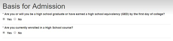Are you currently enrolled in a High School course?