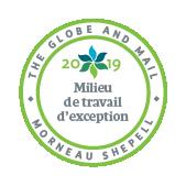2019 Milieu de travail d'exception