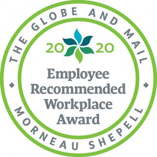 2020 Employee Recommended Workplace Award