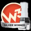 2016 W3 Silver Winner