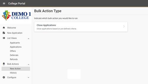 Bulk Actions