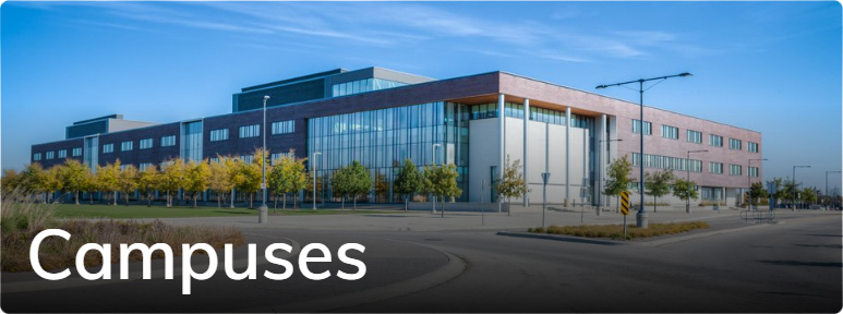 View the Virtual Tour of Conestoga's Campuses