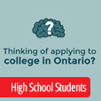 "Click to open ""Applying to College: Ontario High School Students"" video on YouTube"