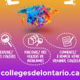 Cliquer pour télécharger le PDF de l'affiche de collegesdelontario.ca