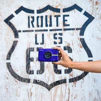 Polaroid + Route 66