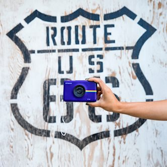 Polaroid + Route 66
