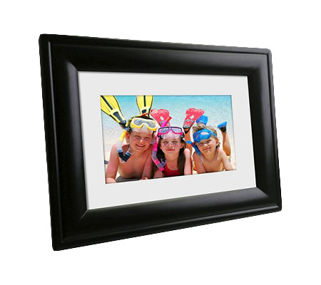 Polaroid Digital Photo Frame 7 Black