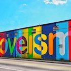Loveism Mural