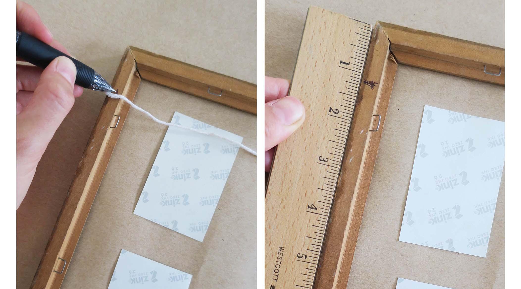 DIY Polaroid Photo Frames