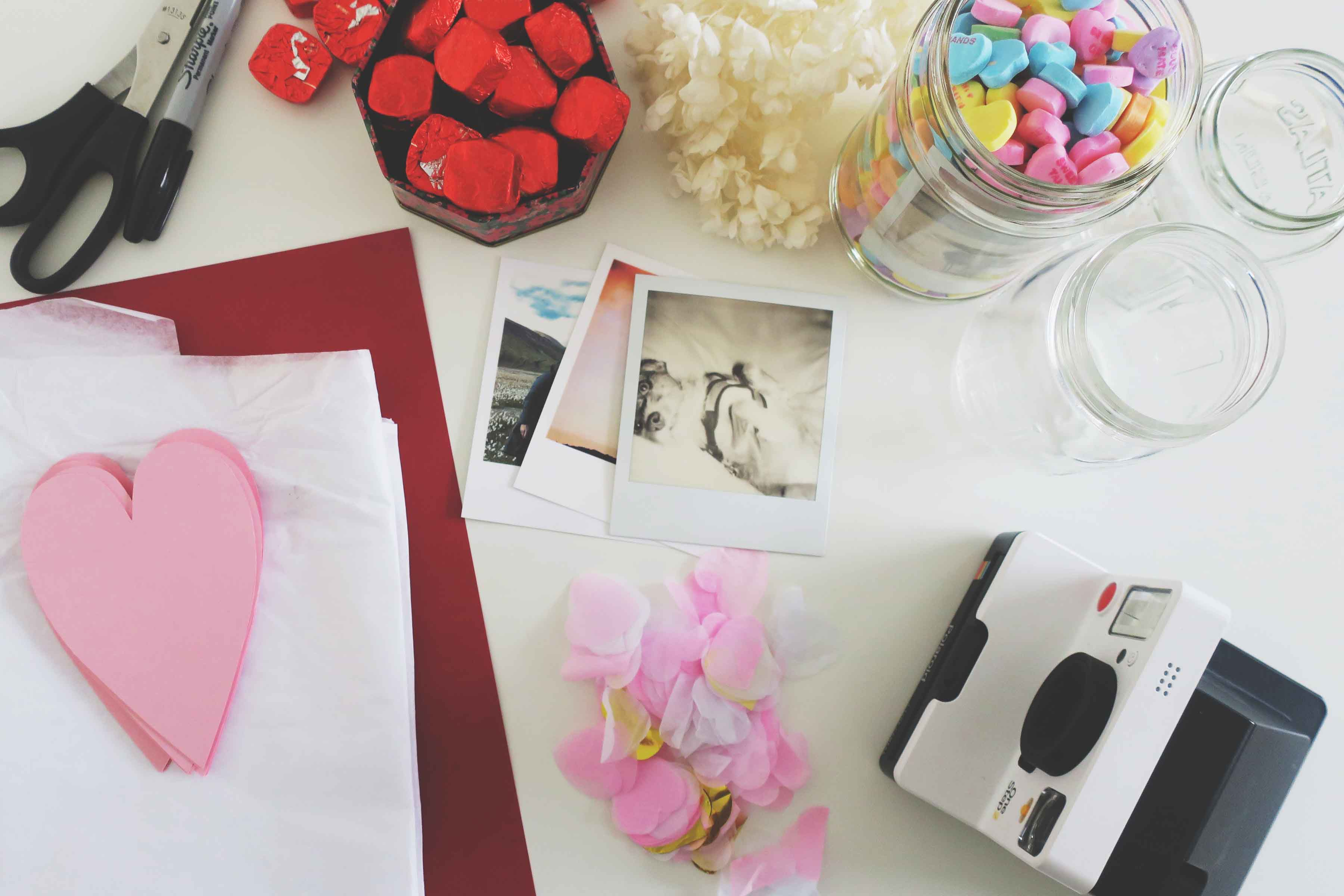 DIY Photo Memory Jars