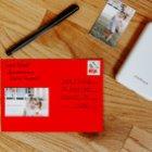 Polaroid Zip postcard