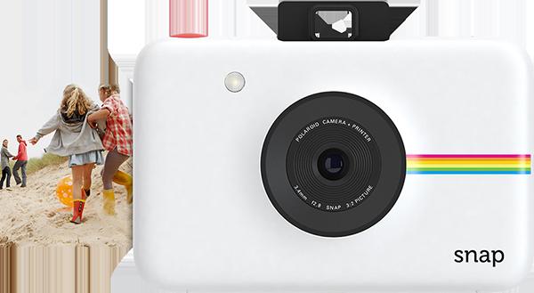Polaroid Snap camera in action