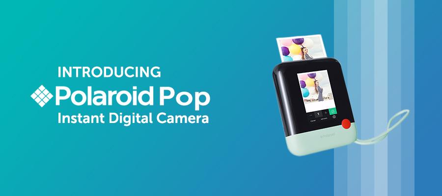 71f0ca7a2b Introducing Polaroid Pop Instant Digital Camera