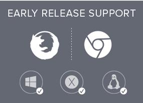 browser dev versions