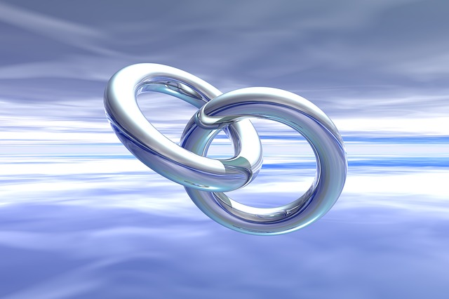 Symbol of linking rings