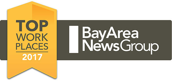 2017 Top Workplace by Bay Area News Group