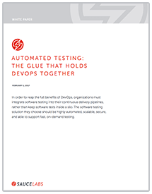 The Glue That Holds DevOps Together