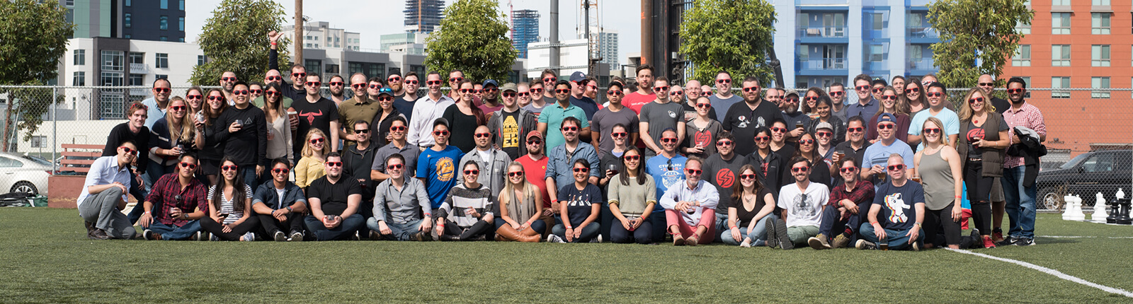 Sauce Labs Summer Picnic Team Photo