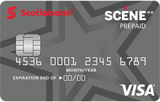 SCENE Prepaid Visa Card