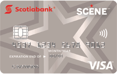 SCENE - The movie reward program from Scotiabank and Cineplex