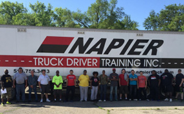 Napier Truck Driver Training