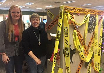 Schneider Halloween Fun in Corporate Accounting