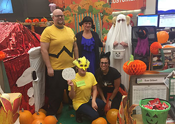 Day in the Life of a Schneider Customer Service Career - Halloween