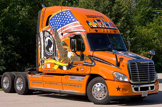 2007 Ride of Pride Truck.