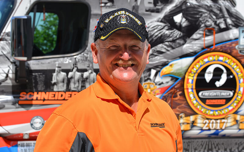 2018 Schneider Ride of Pride Driver