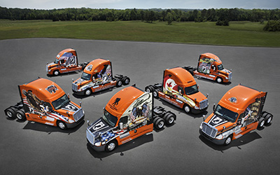 7 Ride of Pride trucks