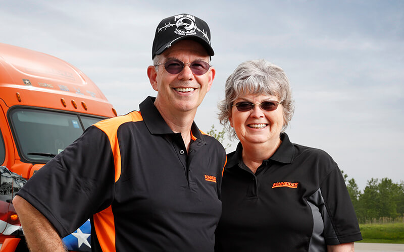 Featured Ride of Pride Driver Jay Hull and Wife