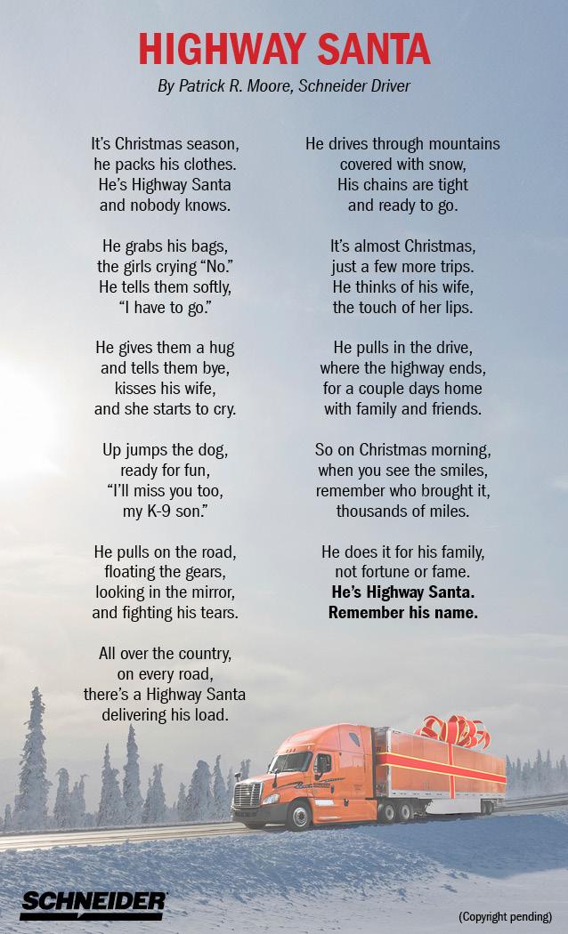 Highway Santa Poem