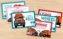 Trucker Valentines Day Ecards