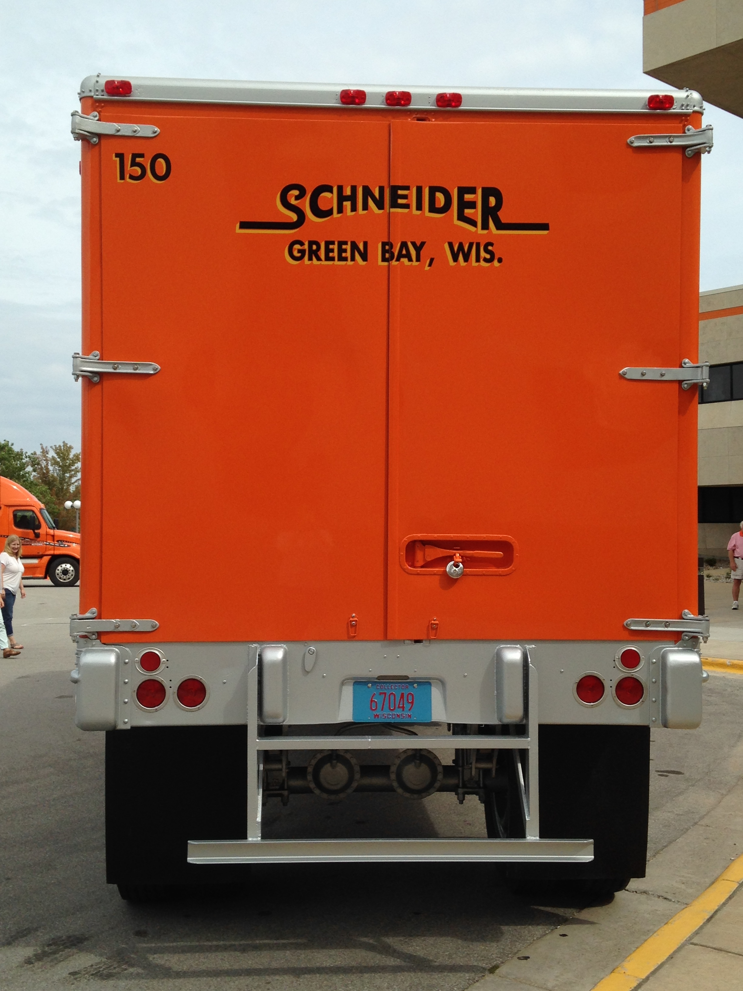 Back of Trailer