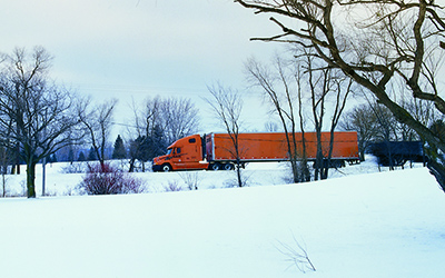 Winter Driving Tips for Truck Drivers - Schneider