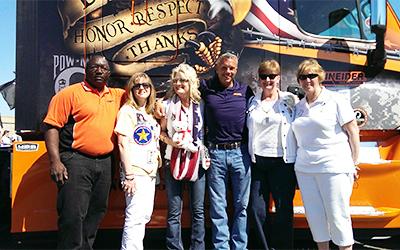 2015 Ride of Pride truck