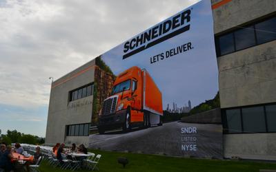 Schneider NYSE banner