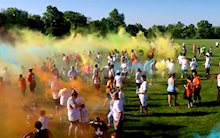 This Able Veteran Color Run