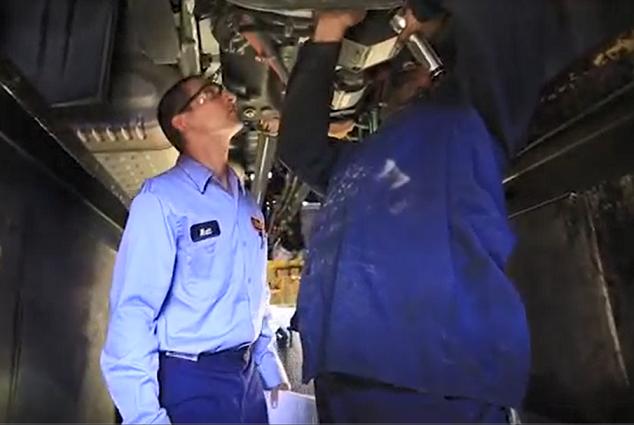 Additional Training as a Schneider Diesel Mechanic