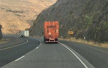 Schneider tractor-trailer