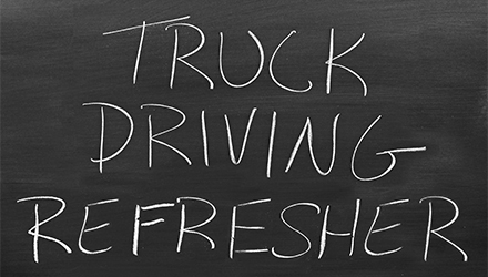 Truck Driving CDL Refresher Course