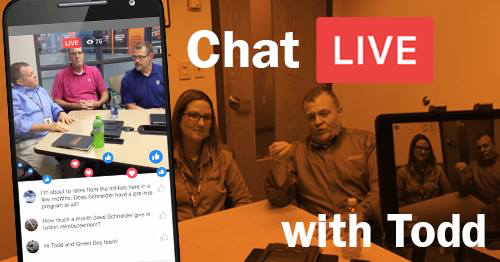 Facebook Live company driver chat