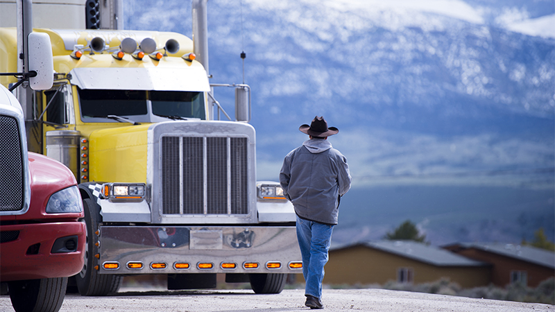 Ask these questions if you're considering a trucking career